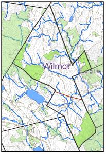 Wilmot Town Map